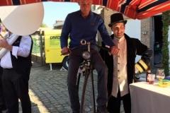 danny op fiets